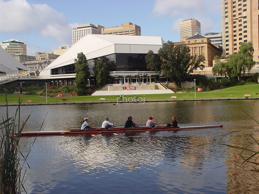 photoj Sth Ausralia- Adelaide City, River Torrens by photoj