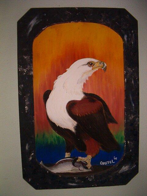 Fish Eagle King by gretelmoss