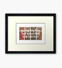 Alphonse Mucha x The Weeknd Framed Print