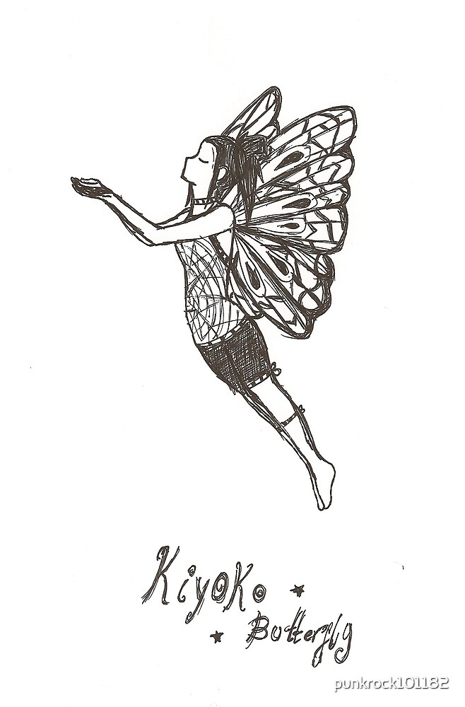 kiyoko butterfly by punkrock101182