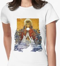 The Labyrinth Womens Fitted T-Shirt