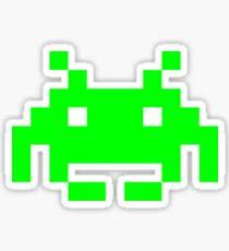 Space Invaders Alien Sprite Sticker