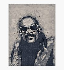 Snoop Doggie Dogg Abstract painting Photographic Print