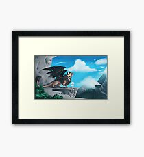 Wild Things. Framed Print