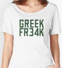 Greek Freak 34 FR34k Women's Relaxed Fit T-Shirt