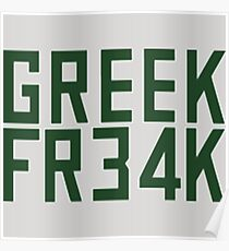Greek Freak 34 FR34k Poster