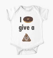 I Donut Give a Poop Emoji Kids Clothes