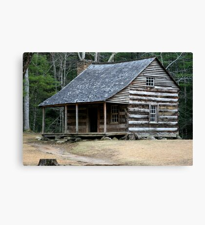 Carter Shields Cabin II Canvas Print