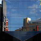 City in glass by Steve plowman