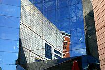 City in glass 2 by Steve plowman