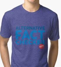 Official Alternative Fact Checker Tri-blend T-Shirt