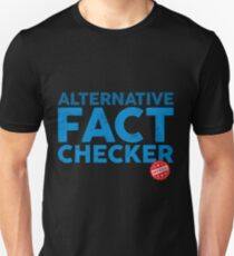 Official Alternative Fact Checker Unisex T-Shirt