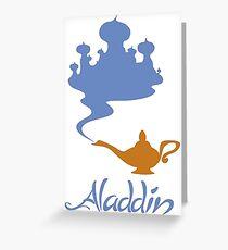 Aladdin #01  Greeting Card