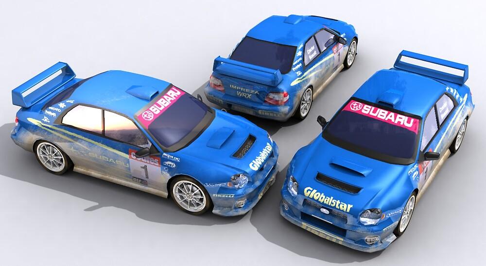 Subaru WRX STi by SenorFreebie