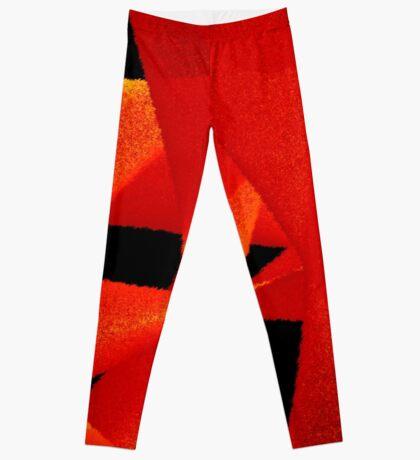 red passion Leggings