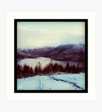 The Five Sisters of the Highlands  Art Print