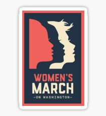Women's March Sticker