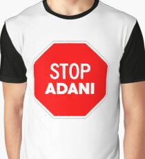 Stop Adani - End Coal Mining in Australia Graphic T-Shirt
