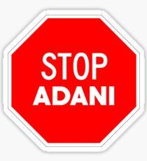 Stop Adani - End Coal Mining in Australia Sticker