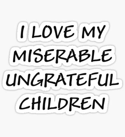 I Love My... Sticker
