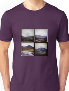 Four scenes from the Highlands Unisex T-Shirt
