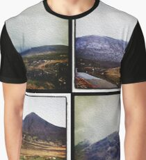 Four scenes from the Highlands Graphic T-Shirt