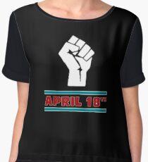 Jim Jefferies April 18th Shirt Chiffon Top