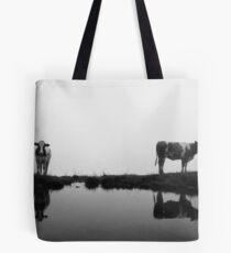+ - = Tote Bag
