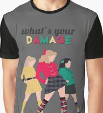 What's Your Damage? - Heathers the Musical Graphic T-Shirt