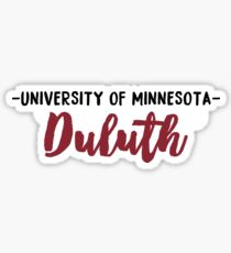 University of Minnesota - Duluth Sticker