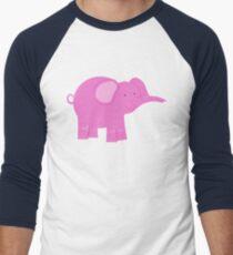 Pink Elephant | Whimsical Animals T-Shirt