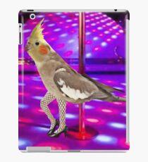 Cockatiel Stripper iPad Case/Skin