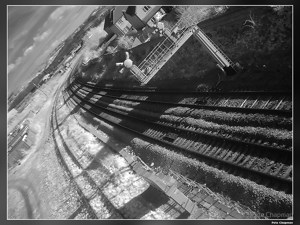 Infrared Railway by Pete Chapman