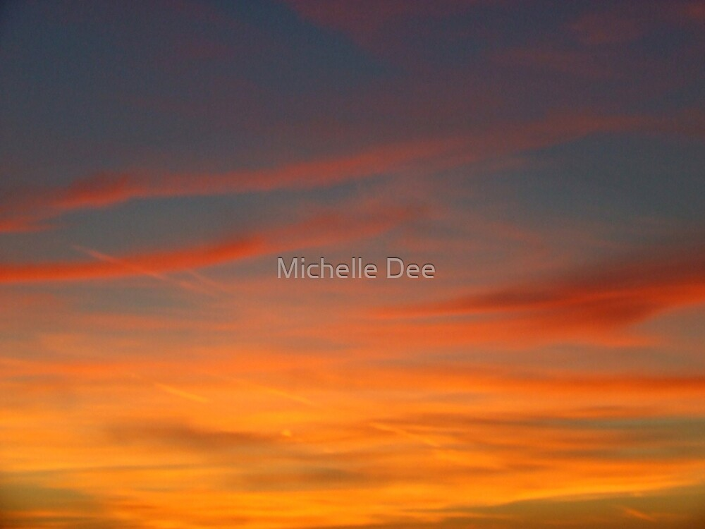 Sunset Over Southport by michelleduerden