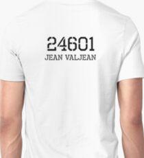 Prisoner 24601 Jean Valjean, Les Miserables Musical T-Shirt