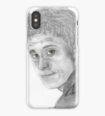 "Hoban ""Wash"" Washburn from Firefly/Serenity hand drawn in charcoal. iPhone Case/Skin"