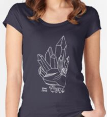 Rockin' Crystals Women's Fitted Scoop T-Shirt