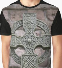Celtic Cross Graphic T-Shirt