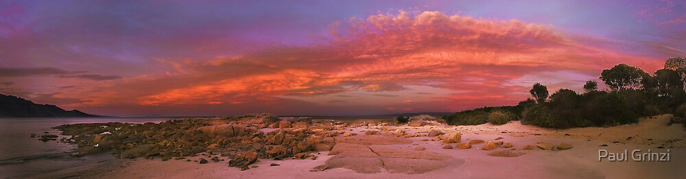 Fire in the sky by Paul Grinzi