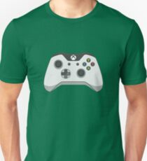 Xbox One White Controller Vector Unisex T-Shirt