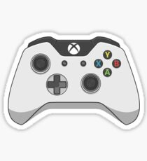 Xbox One White Controller Vector Sticker