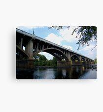 Gervais stree bridge Canvas Print
