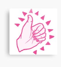 Thumbs Up! Canvas Print
