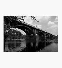 Gervais stree bridge #2 Photographic Print