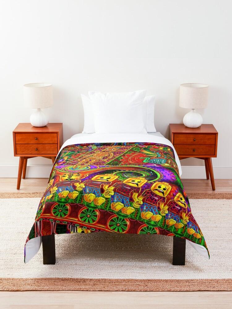 Alternate view of The Seer's Portal Comforter