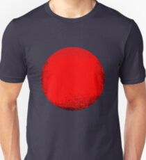 red circle Unisex T-Shirt