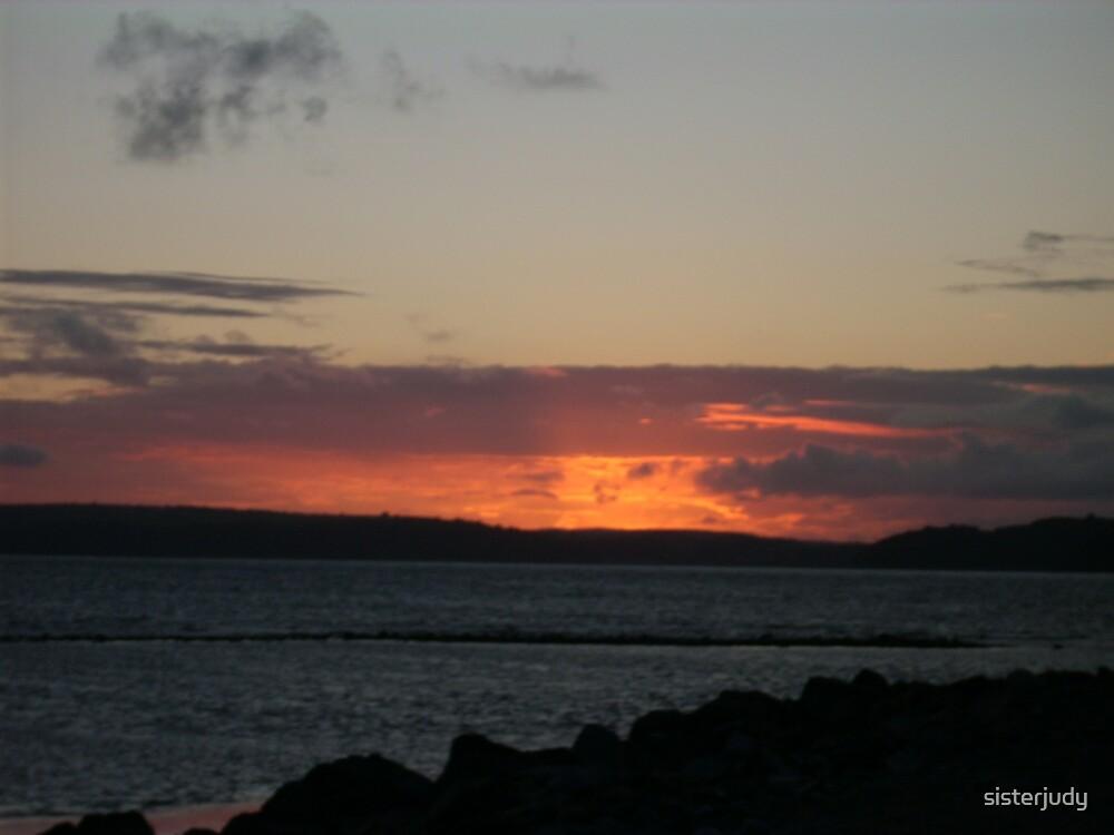 sunset by sisterjudy