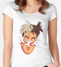 xxx tentaction Women's Fitted Scoop T-Shirt