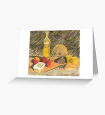 Picknick Gast Greeting Card