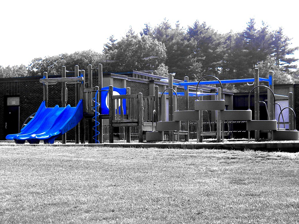 Playground in Blue by Tommy Seibold